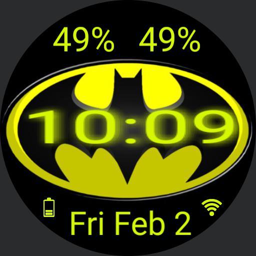 Batman Swirl