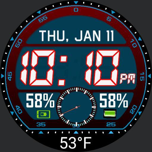 Digital LCD Moto