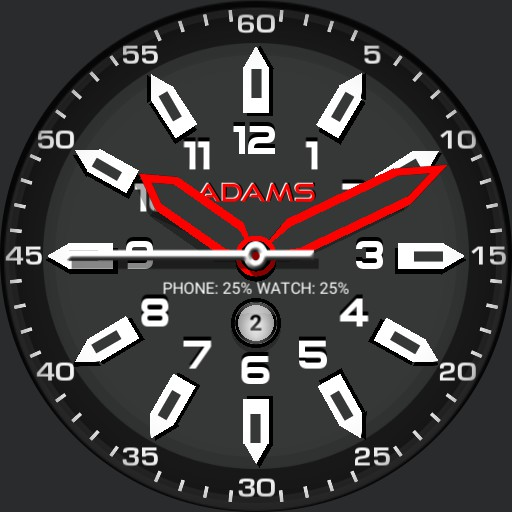 Chronos Red w/Date