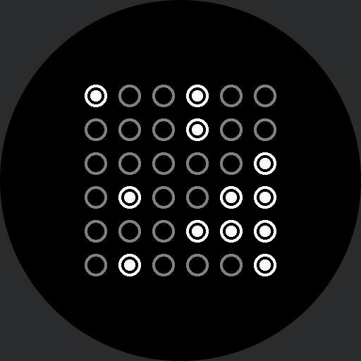 Binary watch fixed