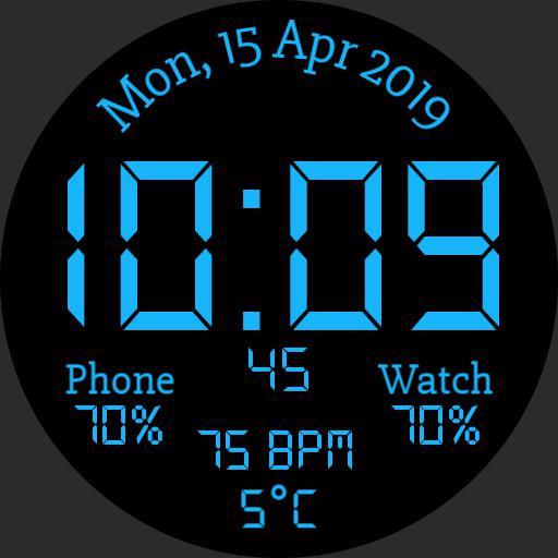 Digital Watch, Watch  Phone Battery Copy