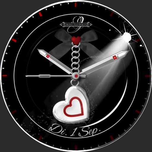 BlackRed HeartBeat Animation