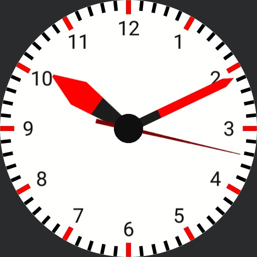 Simple Analogue Watch