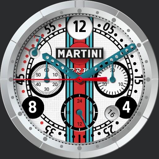 B.R.M Martini Racing White