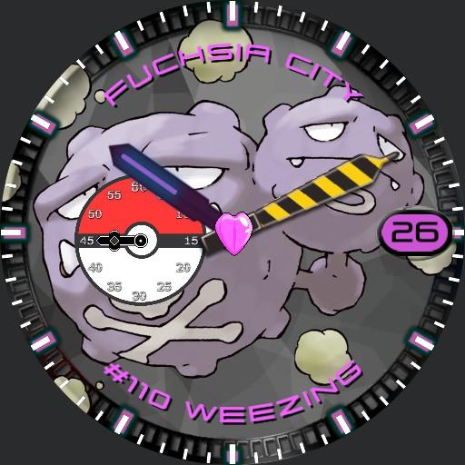 Pokemon Watch Weezing