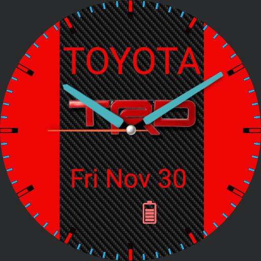 toyota trd watch
