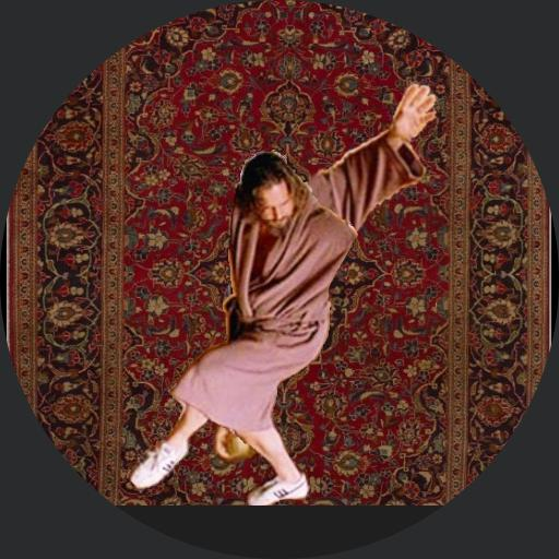 The Dude and his Rug