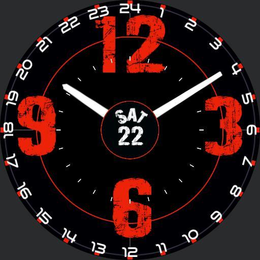 12/24 Black  Red