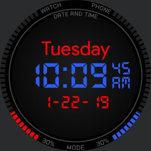 RGB Digital Digiwatch