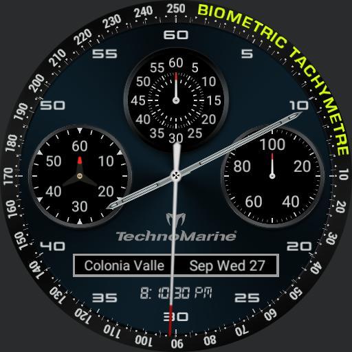 BIOMETRIC technomarine dark full info