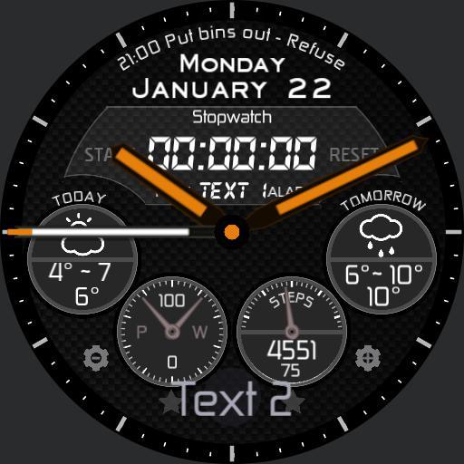 kosiba 4 dials stopwatch Copy