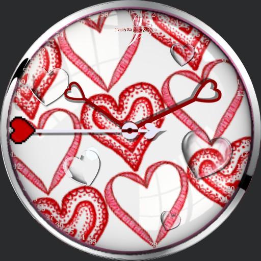 tanzende Herzen Animation