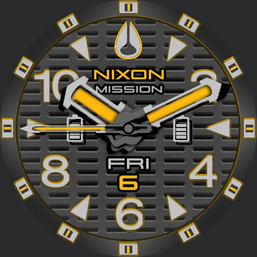 PVS Nixon Factor-X Orange T-Grid