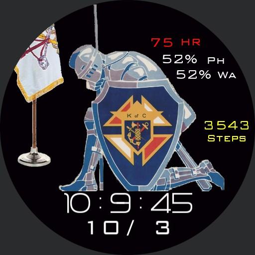 Knights of Columbus Kneeling
