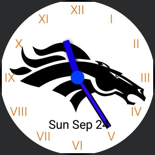Broncos simple watch