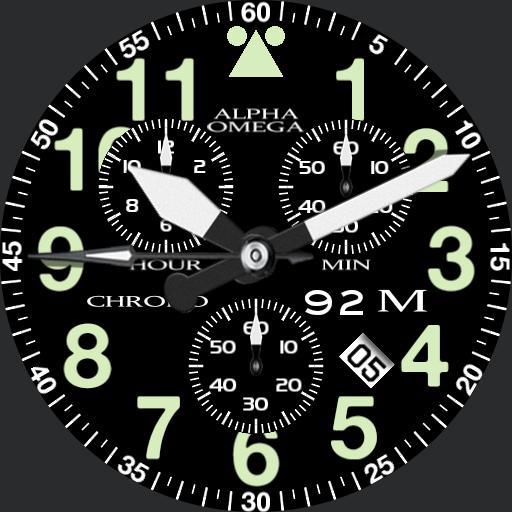 Aeromaster chronograph