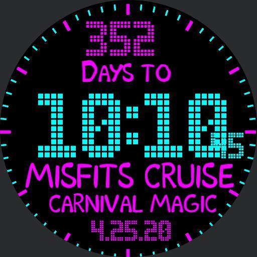 Misfit Cruise countdown