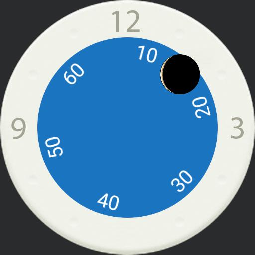 rotating subdial
