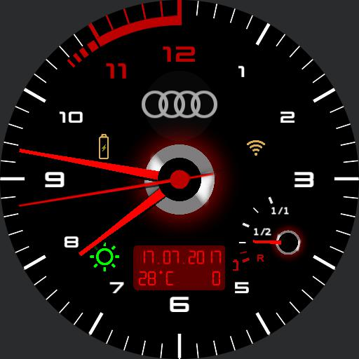 Tacho Audi A6 3.0 avant Copy