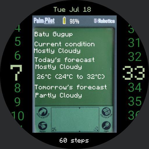 Palm Pilot Redux TW