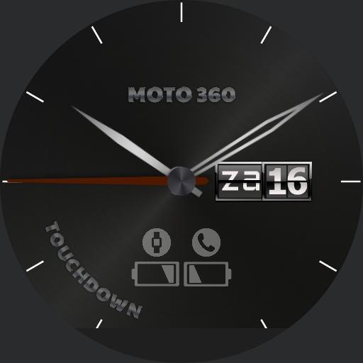 Moto 360 Touchdown