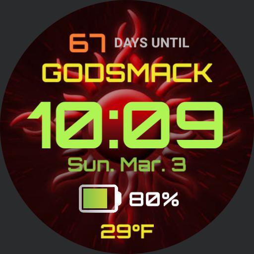 Godsmack London, ON Countdown