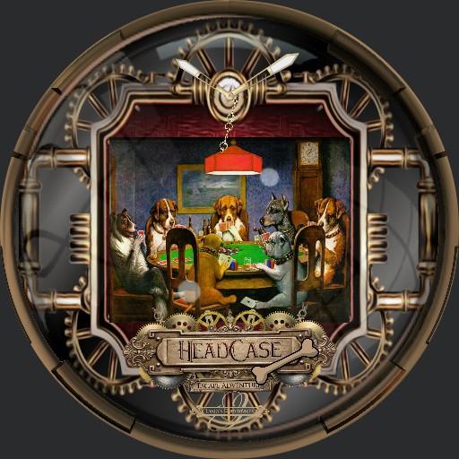 Steampunk Dog Poker 2