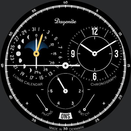 Lunar Calendar Chronograph