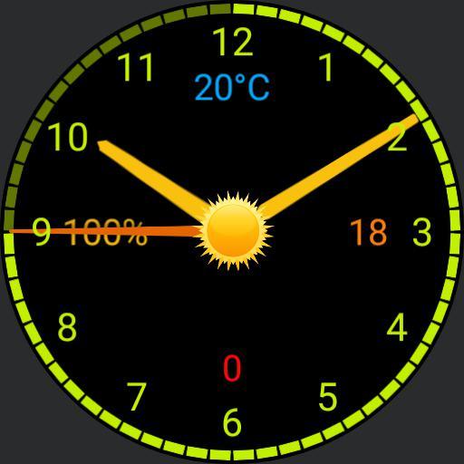 Galaxy Watch Orange Copy