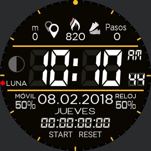 ME2 dig. analog. crono 12h