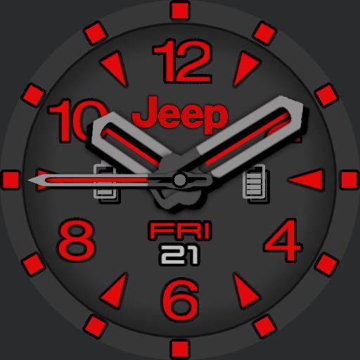 PVS Red Jeep