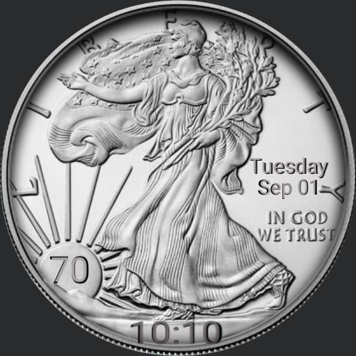 Silver Waking Liberty