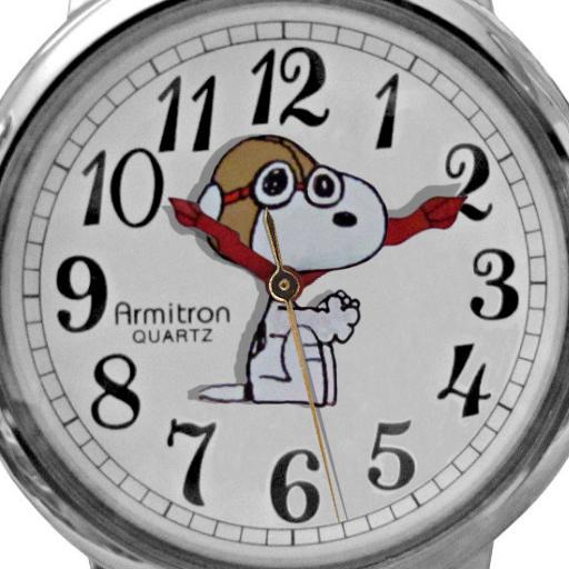 Red Baron van Snoopy - Armitron