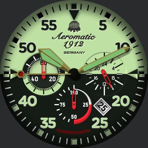 Aeromatic 1912 Chronograph
