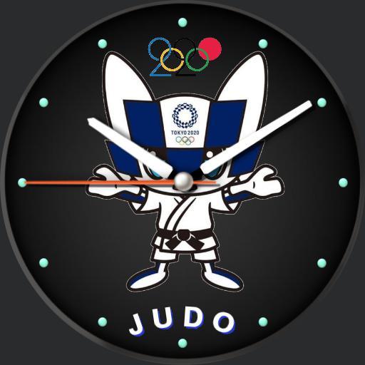 judo olympic  mascot