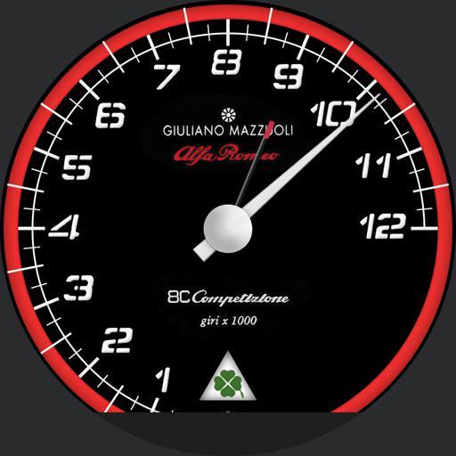 Contagiri Alfa Romeo 8C