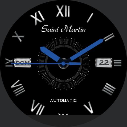 Black Roman Saint Martin Copy