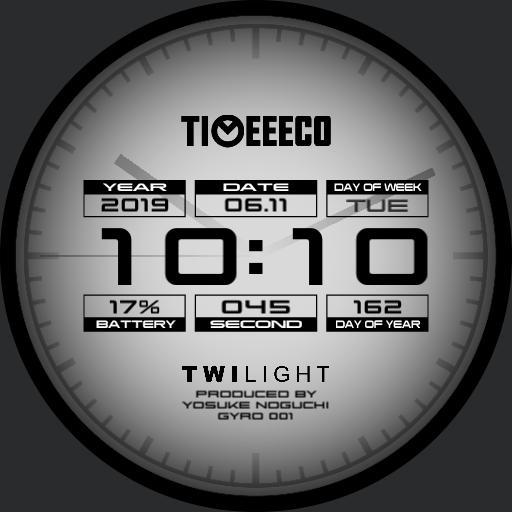 TIMEEECO TWILIGHT GYRO 001 NO CHANGE