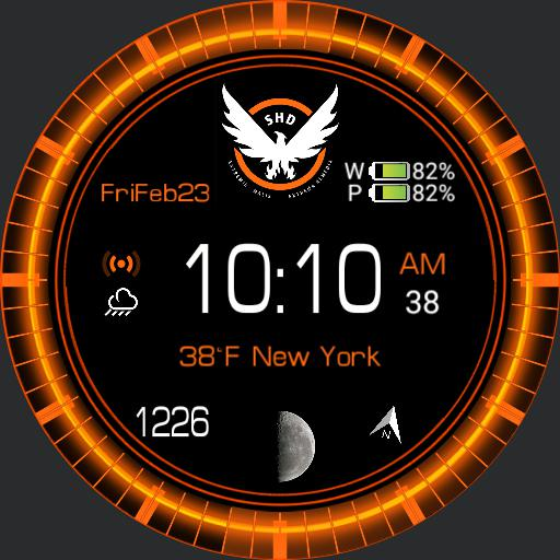 Division Watch Face