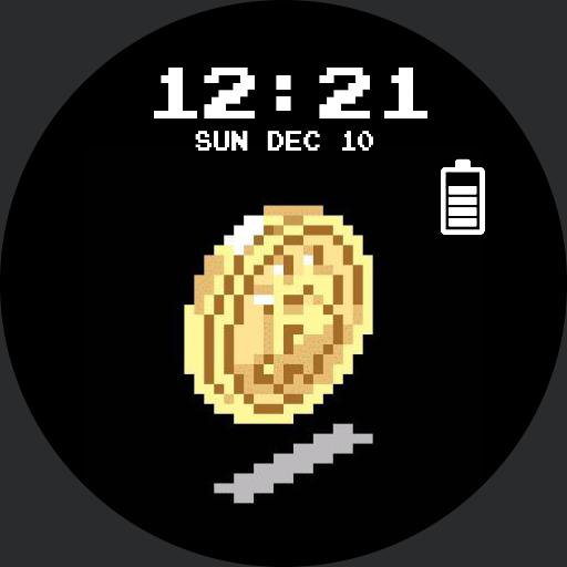 BTC watch face