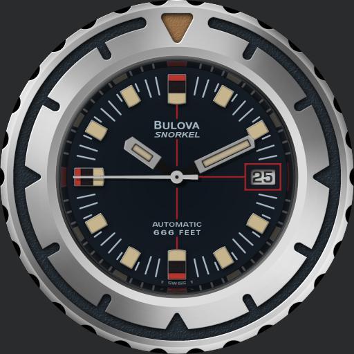 Bulova Super Snorkel 666 C.1970s