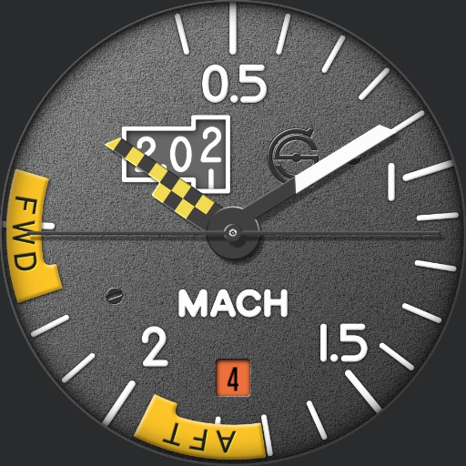 Mach 2 Concorde Watch