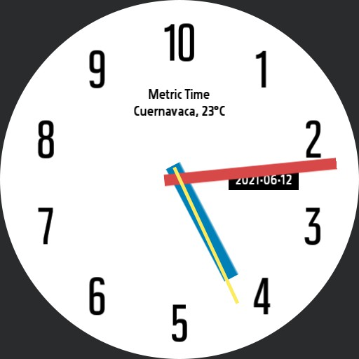 Primario 10h Decimal Time Watch