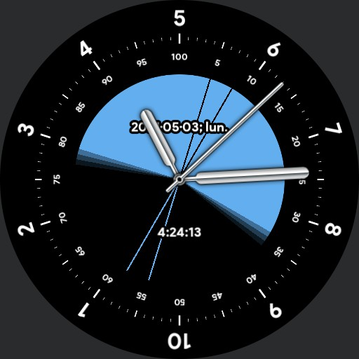 Sentimetal 10h Decimal Time Watch