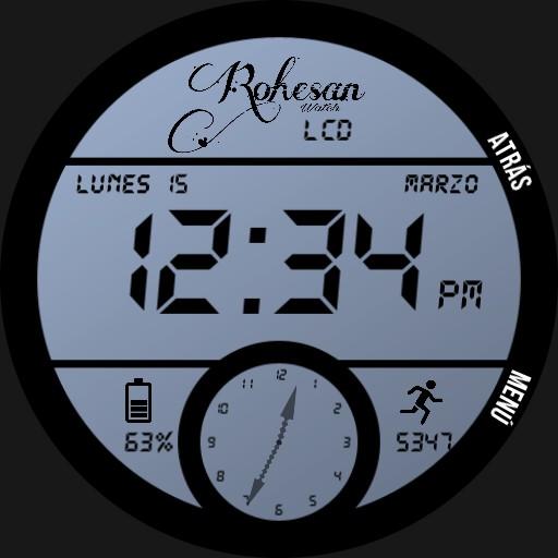 LCD Color - Rohesan Watch