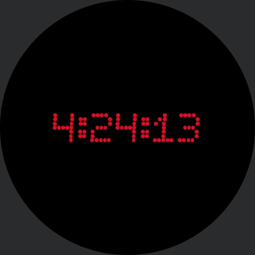 Simple Decimal Digital Watch