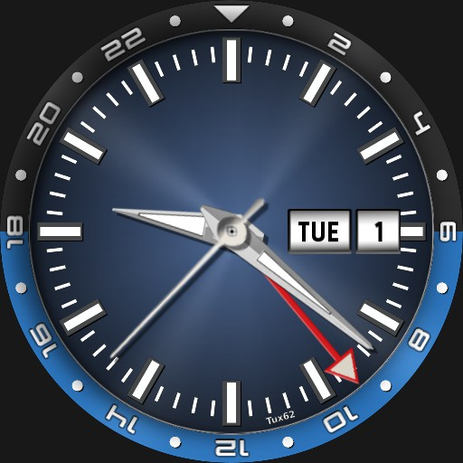 GMT with moving bezel