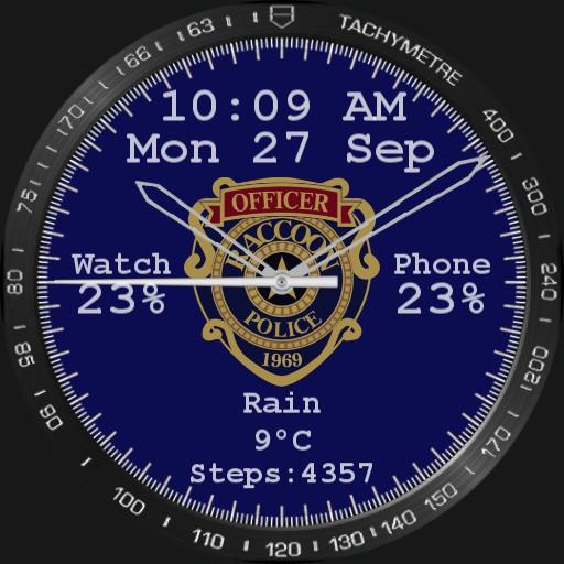 RPD Badge watchface
