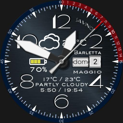 Pilot Watch Blue