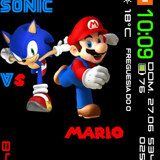 MI WATCH Xiaomi Sonic vs Mario 10